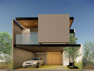 Casas Pigmea de TDT Arquitectos Minimalista