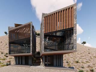 Casas Siamesas de TDT Arquitectos Minimalista
