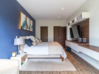 Recámara Principal del Proyecto Centenario Dormitorios modernos de Soma & Croma Moderno