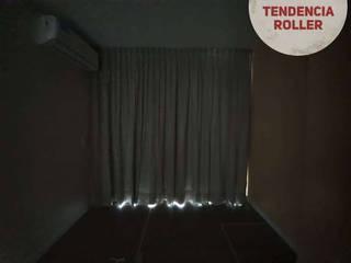 TENDENCIA ROLLER Puertas y ventanasCortinas Textil Beige
