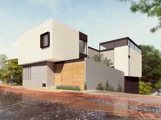 Casa Alessandre Casas minimalistas de TDT Arquitectos Minimalista