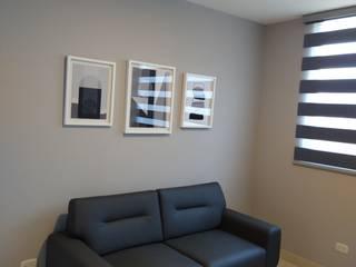 Proyecto decoración apartamento D-KO sector Menga Cali, valle Salas de estilo minimalista de ARCHIMINIMAL ESTUDIO Minimalista