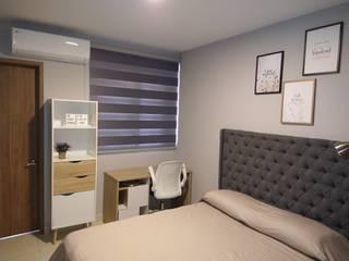 Proyecto decoración apartamento D-KO sector Menga Cali, valle de ARCHIMINIMAL ESTUDIO Minimalista