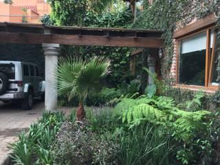 OFICINA VERDE de Jardin Urbano Moderno