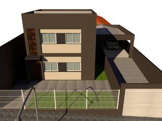 """Projeto MM 45"""" Reforma e Construção por Tangram Construtora de Obras Moderno"""