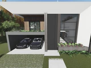 Residência Gold por Tangram Construtora de Obras Moderno