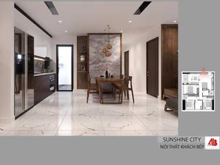 Thiết kế nội thất chung cư Sunshine City bởi Thiết Kế Nội Thất - ARTBOX