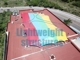 CREE Morelos Estructuras ligeras Escuelas de estilo moderno Multicolor