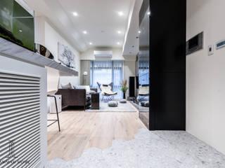 沙瑪室內裝修有限公司 Couloir, entrée, escaliers industriels