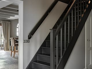 Country style corridor, hallway & stairs by Pure & Original Country
