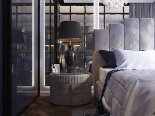 Апартаменты на Софийской набережной STUDIO 57 Спальня в классическом стиле
