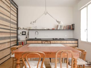 Scandinavian style dining room by Angela Baghino Scandinavian