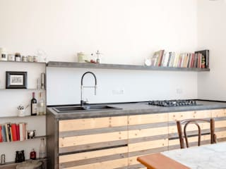Angela Baghino Scandinavian style kitchen