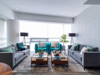 Sala del Proyecto Centenario Salones modernos de Soma & Croma Moderno