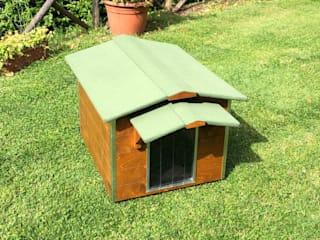 Pet House Design® Garden Pool Wood Brown