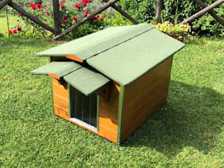 Pet House Design® Rock Garden Wood Brown