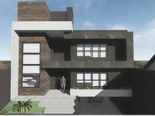 Residência BV por Tangram Construtora de Obras Moderno