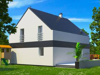 Dom energooszczędny 137,13 m2 Poznań. od Dom Pełen Energii