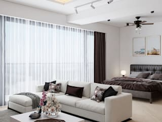 LABOTTİ HOME DESİGN LABOTTİ HOME DESİGN Modern Oturma Odası Ahşap-Plastik Kompozit Beyaz