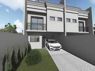 Condomínio Horizontal por Tangram Construtora de Obras Clássico