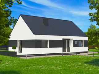 Dom energooszczędny 87,81 m2 Wrocław. od Dom Pełen Energii