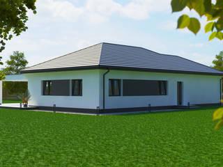 Dom energooszczędny 175,40 m2 Wrocław od Dom Pełen Energii