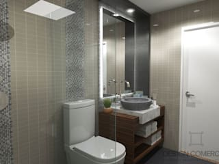 Design Comercial Modern bathroom