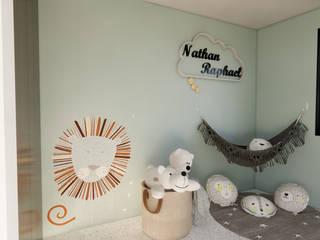 Habitacion Bebé Arquydesign Habitaciones infantilesAccesorios y decoración Papel Verde