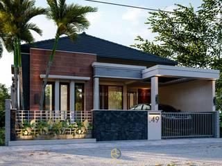 Rancang Reka Ruang Single family home Bricks Grey