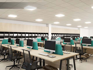 Nội thất văn phòng Study/officeAccessories & decoration Green