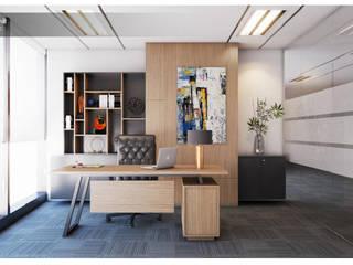 Nội thất văn phòng SpaFurniture Kulit Wood effect