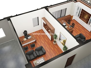 Nội thất văn phòng Office spaces & stores Granit Transparent