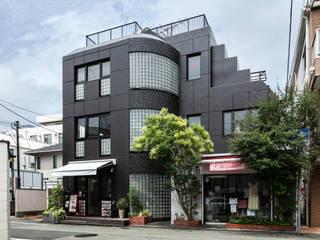 オフィスム インダストリアルな 玄関&廊下&階段 の SQOOL一級建築士事務所 インダストリアル