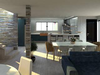 di Studio AW Arquitetura Moderno