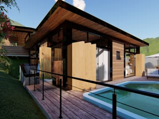 por Studio AW Arquitetura Industrial