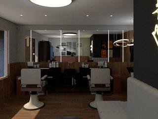 Studio moderno di Studio AW Arquitetura Moderno