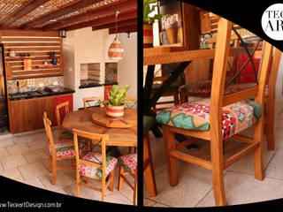 Welcome 03 - TECEART DESIGN TECEART Varanda, alpendre e terraçoMobiliário