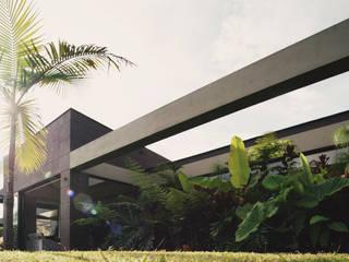 Minimalistische tuinen van Taller Once Arquitectura Minimalistisch