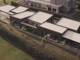 Minimalistische huizen van Taller Once Arquitectura Minimalistisch