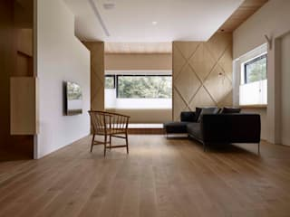 92號‧讀光閱景 圭侯 洪文諒空間設計 现代客厅設計點子、靈感 & 圖片
