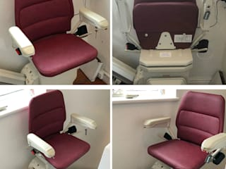 Reconditioned Stairlift Norfolk Carelift Services - UK Tangga Red