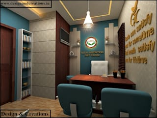 Design & Creations Study/office MDF Turquoise