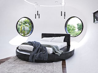 GLE Arquitectura Modern style bedroom