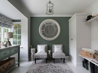 Carla Designs Country style corridor, hallway& stairs by niche pr Country