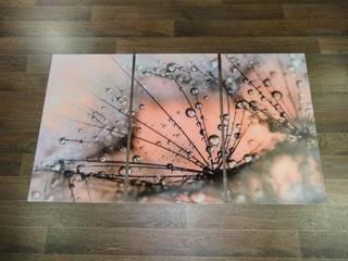 Pavlin Art ArteCuadros y pinturas Vidrio Rosa