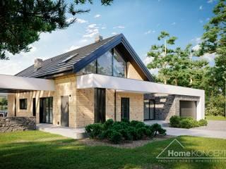Projekt domu HomeKONCEPT 66 A G2 HomeKONCEPT   Projekty Domów Nowoczesnych