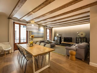 Casa Samaniego Destudio Arquitectura Comedores de estilo mediterráneo