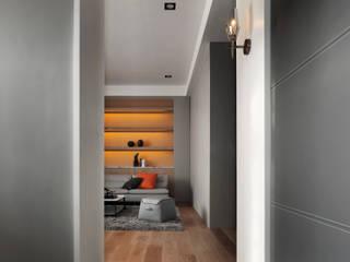 Return To Life 夏沐森山設計整合 现代客厅設計點子、靈感 & 圖片