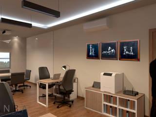 Moderne Arbeitszimmer von ANBA interiorismo Modern