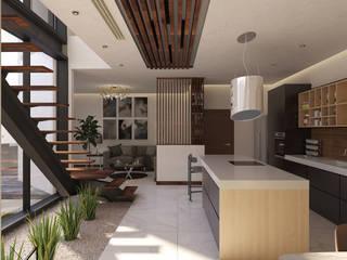 Кухня в стиле модерн от MA Arquitectos Модерн